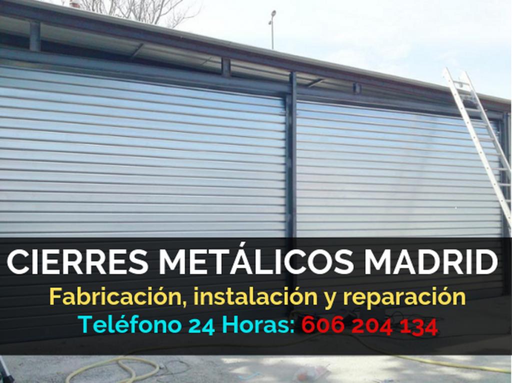 CIERRES METÁLICOS MADRID PRECIOS